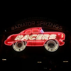 Photo taken at Radiator Springs Racers by Donna N. on 2/6/2013