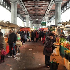 Photo taken at Marché de Grenelle by Quentin M. on 2/10/2013