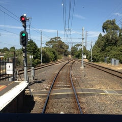 Photo taken at Ringwood Station by Peter C. on 1/4/2013