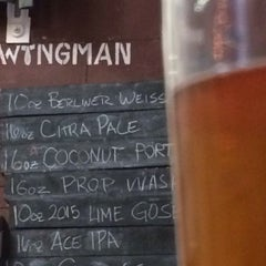 Photo taken at Wingman Brewers by Adam D. on 8/1/2015