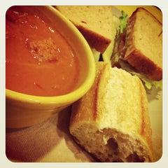 Photo taken at Panera Bread by Ira N. on 2/22/2013