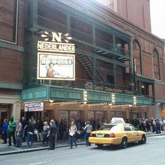 Photo taken at Nederlander Theatre by Matthew F. on 10/27/2012