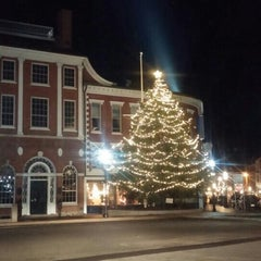 Photo taken at Downtown Portsmouth by Ann C. on 12/19/2015