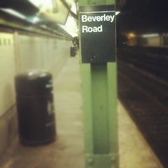 Photo taken at MTA Subway - Beverley Rd (Q) by Gareth T. on 10/8/2012