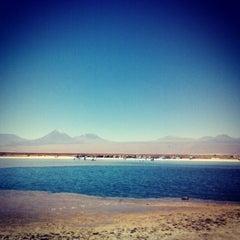 Photo taken at Laguna Cejar by Alberto P. on 11/2/2012