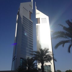 Photo taken at Emirates Towers أبراج الإمارات by Mark C. on 10/10/2013