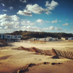 Photo taken at Blériot Plage by Moonsieur P. on 11/13/2013