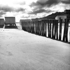 Photo taken at Blériot Plage by Moonsieur P. on 11/19/2013