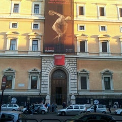 Photo taken at Palazzo Massimo Alle Terme - Museo Nazionale Romano by Massimo Z. on 11/7/2012