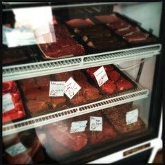 Photo taken at Big Lou's Butcher Shop by Kirk H. on 3/26/2013