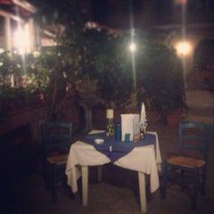 Photo taken at Locanda Greca by Giulia C. on 7/25/2013