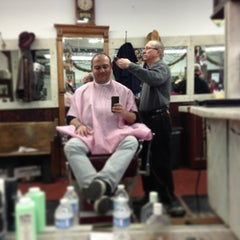 Photo taken at Park Slope Barbers by Marc L. on 12/24/2012