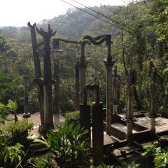 Photo taken at Jardin Edward James Xilitla by Hammer R. on 2/9/2013