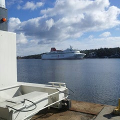 Photo taken at Nynäshamns färjeterminal by Per S. on 4/7/2013