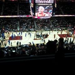 Photo taken at Quicken Loans Arena by David K. on 11/22/2012