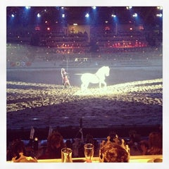 Photo taken at Medieval Times Dinner & Tournament by Zachary R. on 1/12/2013