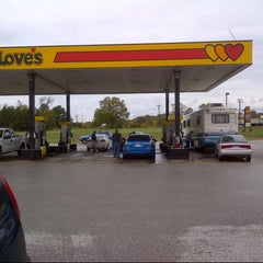 Photo taken at Love's Travel Stop by B n H on 10/14/2012