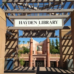 Photo taken at Hayden Library by Gabriel C. on 9/1/2013