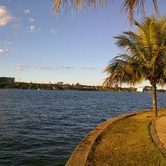 Photo taken at Lago Paranoá by Hugo N. on 7/13/2013
