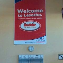 Photo taken at Moshoeshoe I International Airport (MSU) by Bob E. on 9/29/2012