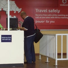 Photo taken at Moshoeshoe I International Airport (MSU) by Bob E. on 10/19/2013