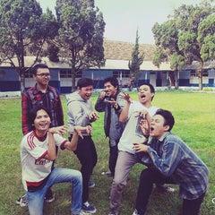 Photo taken at SMA Angkasa Bandung by Rizky E. on 2/25/2016