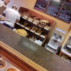 Photo taken at La Tropezienne Bakery by R L. on 7/28/2013