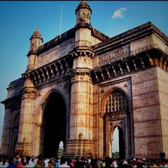 Photo taken at Gateway of India by Vikram R. on 11/14/2012