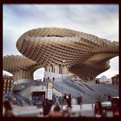 Photo taken at Metropol Parasol by Rabasz ✪. on 11/5/2012