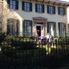 Photo taken at Andrew Low House Museum by Nami D. on 2/9/2014