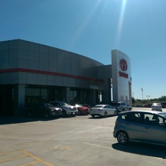 Photo taken at San Marcos Toyota by Rob C. on 10/17/2014