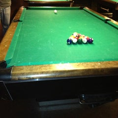 Photo taken at Garage Billiards by Mary M. on 1/22/2013