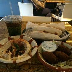 Photo taken at Lebanese Taverna Café by Michael P. on 10/8/2015