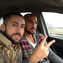 Photo taken at Autostrada A13 by Alessio V. on 12/21/2012