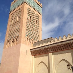 Photo taken at Saadian Tombs | قبور السعديين by Daniel M. on 11/17/2012