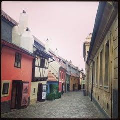 Photo taken at Zlatá ulička | The Golden Lane by Mariko on 11/5/2013