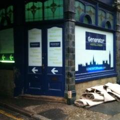 Photo taken at Generator Hostel London by Osvaldo I. on 12/14/2012