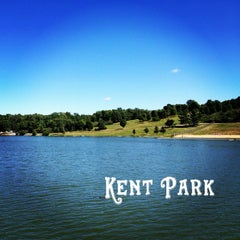 Photo taken at Kent Park by Gregory J. on 9/4/2013