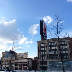 Photo taken at Kenmore Square by Eric A. on 3/8/2015