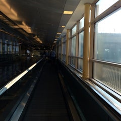 Photo taken at Terminal B by Eric A. on 6/29/2015