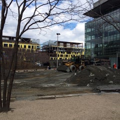 Photo taken at Kendall Square Community Ice Skating by Eric A. on 4/9/2014