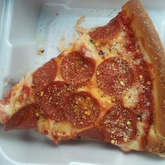 Photo taken at J.B. Alberto's Pizza by Brittany J. on 4/15/2013