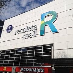 Photo taken at Recoleta Mall by Renata N. on 9/29/2012