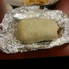 Photo taken at Moe's Southwest Grill by Andrea Y. on 10/25/2012