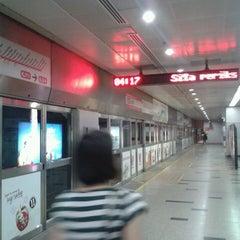 Photo taken at RapidKL KLCC (KJ10) LRT Station by Azfaar S. on 4/27/2013