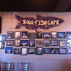 Photo taken at Soul Fish Cafe by Debbie M. on 4/6/2013