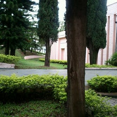 Photo taken at Cúria Metropolitana de Campinas by Monica B. on 11/10/2012