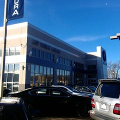 Photo taken at Jay Wolfe Acura by Nick S. on 12/4/2012