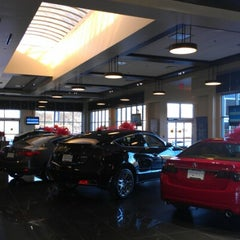 Photo taken at Jay Wolfe Acura by Nick S. on 12/5/2012