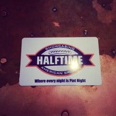 Photo taken at Halftime Sports Pub by Thomas W. on 11/15/2013